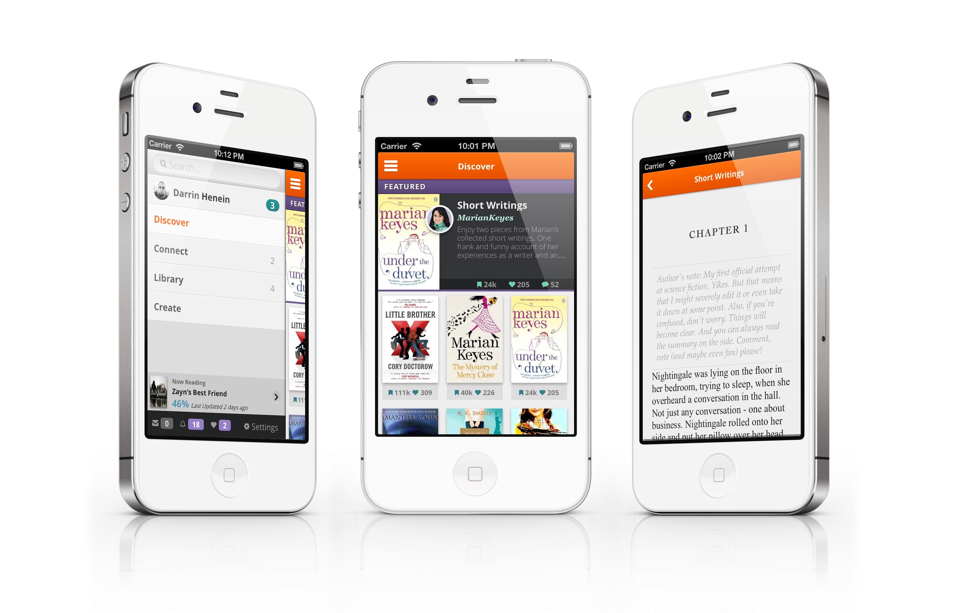 Wattpad Mobile | Darrin Henein